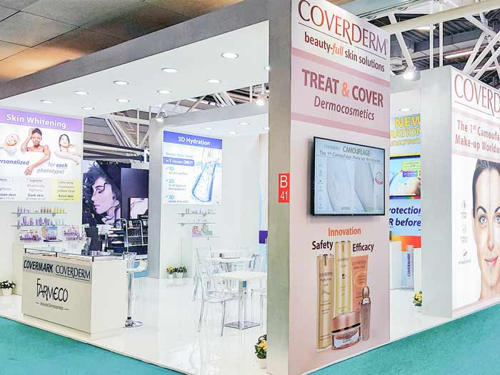 Farmeco Dermoceuticals Exhibitions